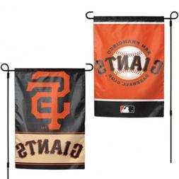 "SAN FRANCISCO GIANTS TEAM GARDEN WALL FLAG BANNER 12"" X 18"""