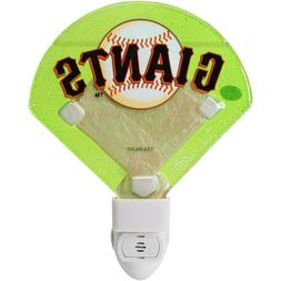 San Francisco Giants Three  Different Glass Nightlights by E