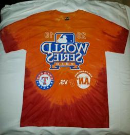 San Francisco Giants World Series 2010 Tye Dye T Shirt Youth