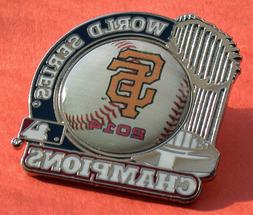 SAN FRANCISCO GIANTS WORLD SERIES CHAMPIONS 2014 TROPHY PIN