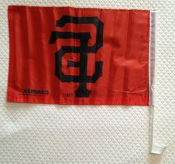 SAN FRANCISCO SF Giants CAR FLAG   New  MLB