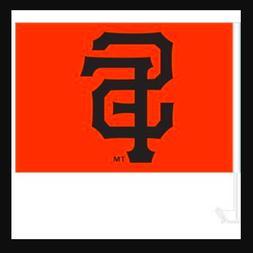 San Francisco SF Giants Car Flag Orange Window Vehicle Black