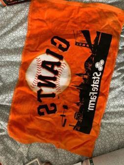 SF Giants Orange Rally Towel SGA by State Farm San Francisco