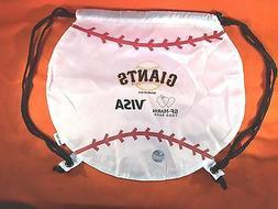 SF San Francisco Giants Drawstring Bag - New and Cute! Not B
