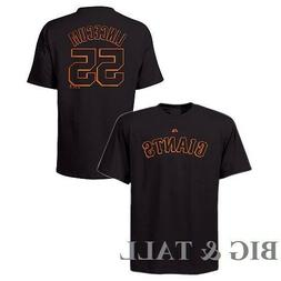 Tim Lincecum #55 San Francisco Giants Black Player Shirt  NW
