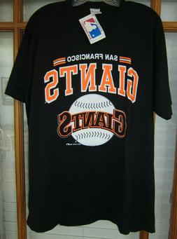 Vintage 1989 San Francisco Giants T-shirt Men's XL Black USA