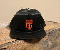 Vintage San Francisco Giants Nylon Satin Hat Cap Adjustable