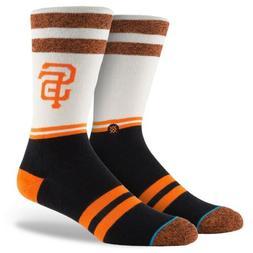 Stance White San Francisco Giants Diamond Crew Socks Men's S