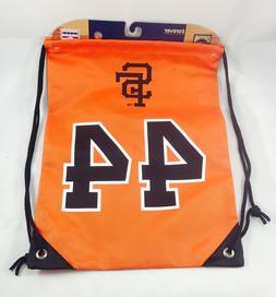 Willie McCovey #44 San Francisco Giants  Drawstring Backpack