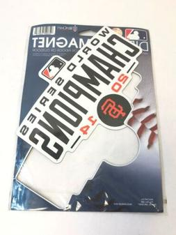 """Wincraft San Francisco Giants Official MLB Die Cut Magnet 6"""""""